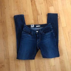 Levi's 711 Skinny Distressed Jeans